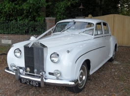 Rolls Royce wedding car in Southampton